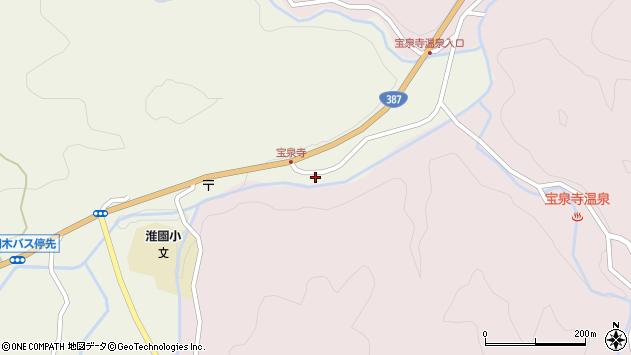 大分県玖珠郡九重町菅原1858周辺の地図