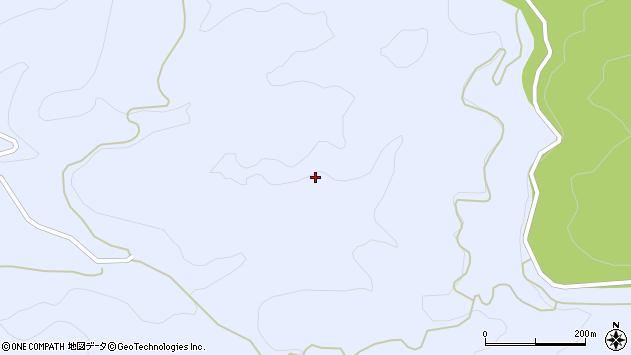 大分県玖珠郡九重町後野上猪牟田周辺の地図