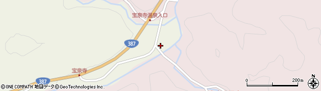 大分県玖珠郡九重町菅原1869周辺の地図