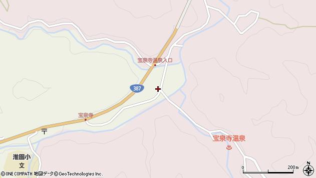 大分県玖珠郡九重町菅原1877周辺の地図