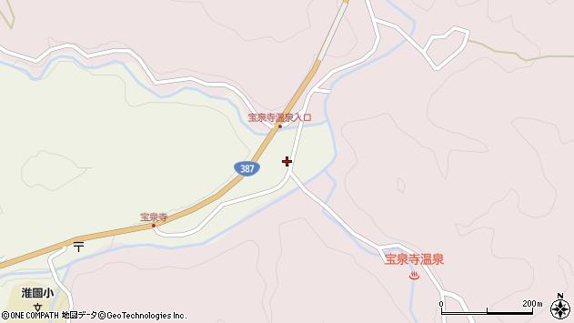 大分県玖珠郡九重町菅原1875周辺の地図