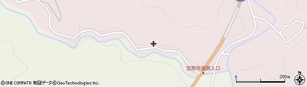 大分県玖珠郡九重町菅原2523周辺の地図