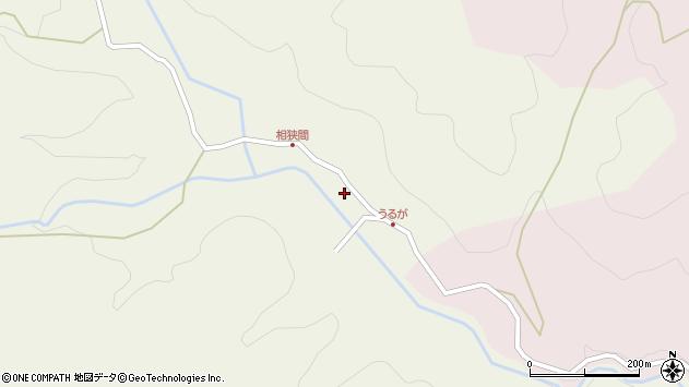 大分県玖珠郡九重町菅原2448周辺の地図