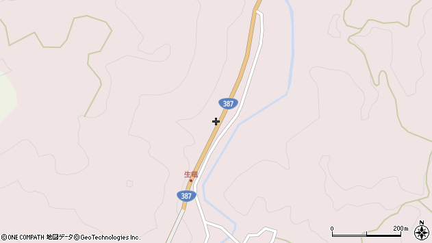 大分県玖珠郡九重町町田32周辺の地図
