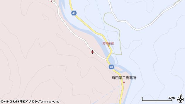 大分県玖珠郡九重町町田3798周辺の地図