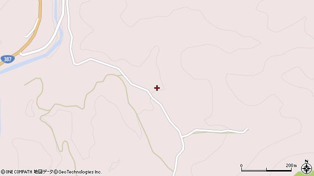 大分県玖珠郡九重町町田1533周辺の地図