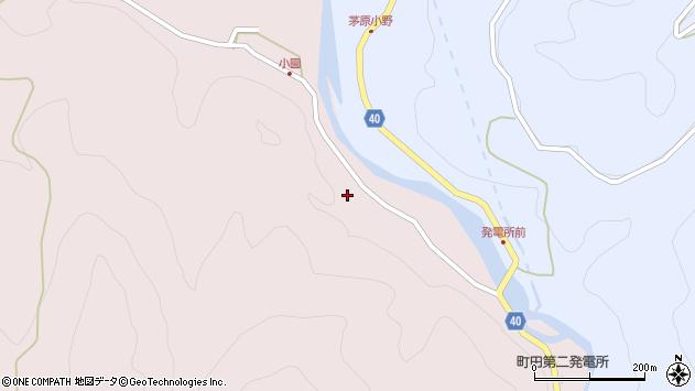大分県玖珠郡九重町町田3875周辺の地図
