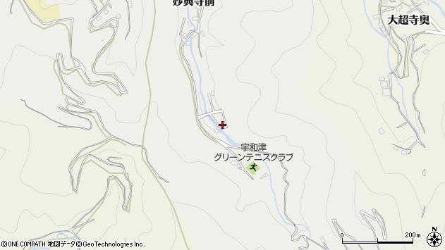 愛媛県宇和島市妙典寺前乙周辺の地図