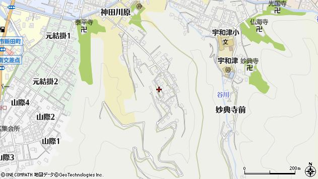 愛媛県宇和島市妙典寺前1201周辺の地図