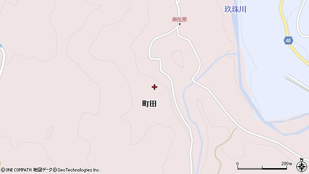 大分県玖珠郡九重町町田4466周辺の地図