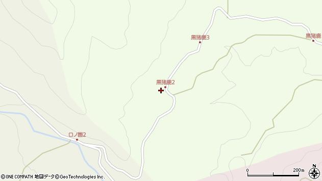 大分県玖珠郡九重町引治1936周辺の地図
