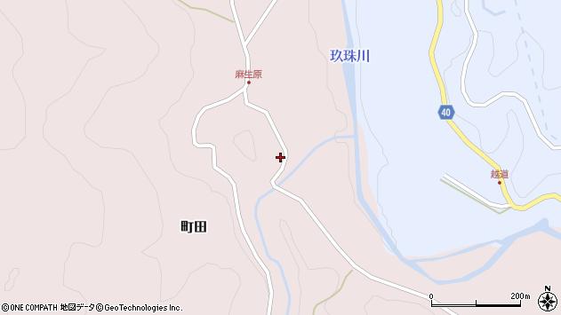 大分県玖珠郡九重町町田4501周辺の地図