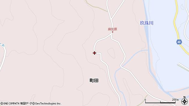 大分県玖珠郡九重町町田4595周辺の地図