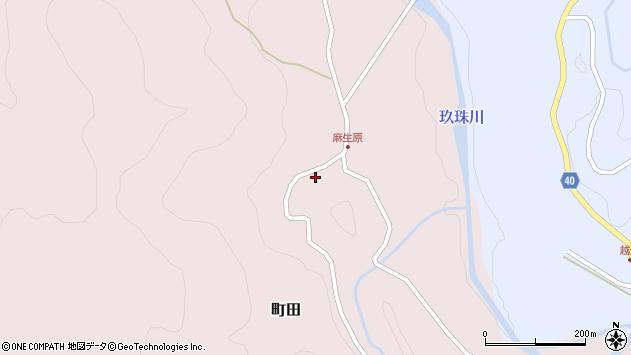 大分県玖珠郡九重町町田4696周辺の地図