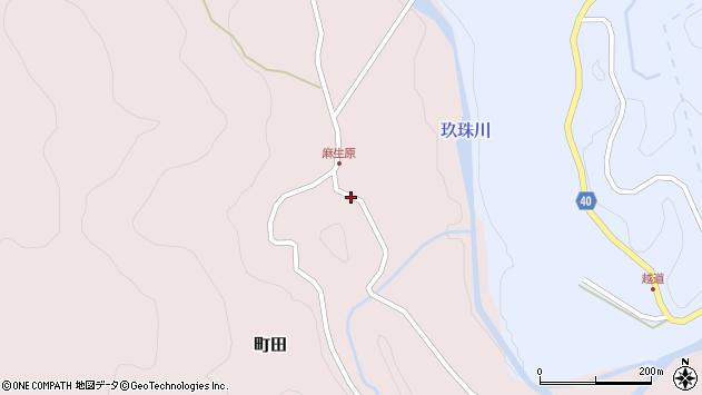 大分県玖珠郡九重町町田4488周辺の地図
