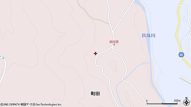 大分県玖珠郡九重町町田4691周辺の地図