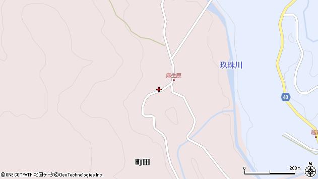 大分県玖珠郡九重町町田4699周辺の地図
