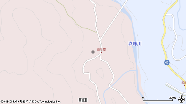 大分県玖珠郡九重町町田4700周辺の地図