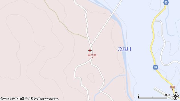 大分県玖珠郡九重町町田4705周辺の地図