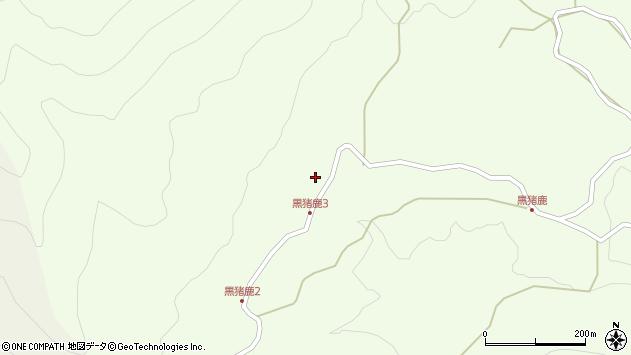 大分県玖珠郡九重町引治1887周辺の地図