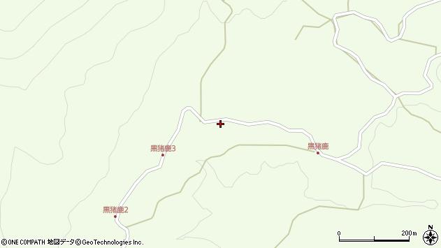 大分県玖珠郡九重町引治1741周辺の地図