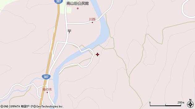 大分県玖珠郡九重町町田1337周辺の地図
