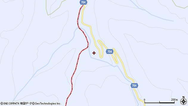 大分県玖珠郡玖珠町山浦2484周辺の地図