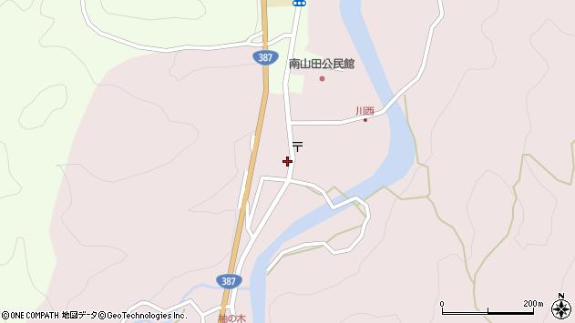 大分県玖珠郡九重町町田520周辺の地図