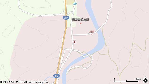 大分県玖珠郡九重町町田538周辺の地図