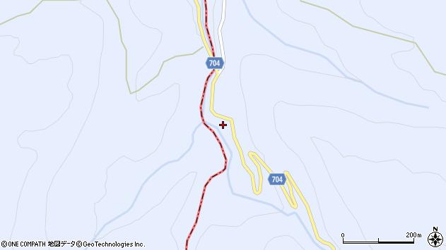 大分県玖珠郡玖珠町山浦2476周辺の地図