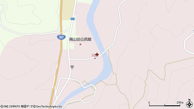 大分県玖珠郡九重町町田532周辺の地図