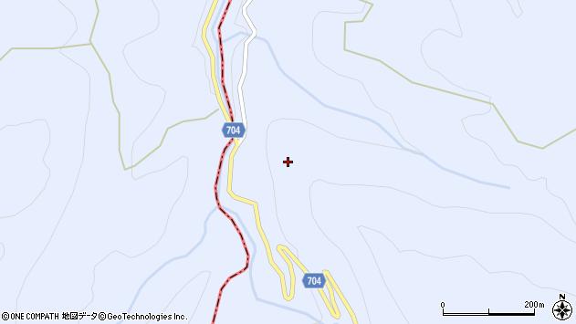 大分県玖珠郡玖珠町山浦秋畑周辺の地図