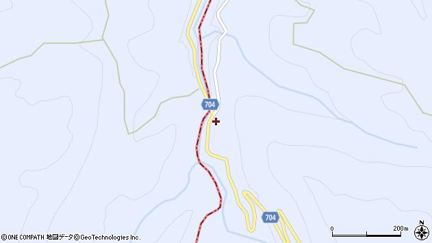 大分県玖珠郡玖珠町山浦2470周辺の地図