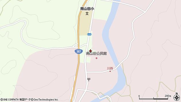 大分県玖珠郡九重町引治1222周辺の地図