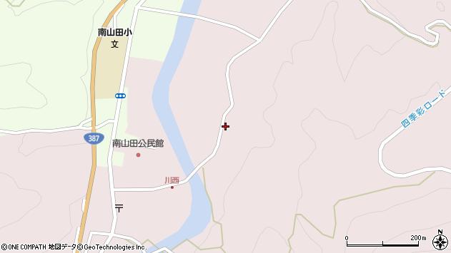大分県玖珠郡九重町町田880周辺の地図