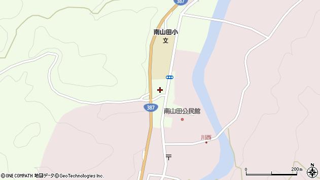 大分県玖珠郡九重町引治1235周辺の地図