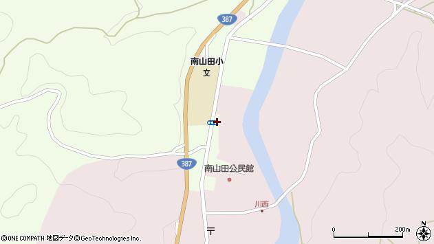 大分県玖珠郡九重町引治1316周辺の地図