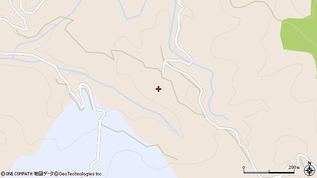 大分県玖珠郡九重町野上1054周辺の地図