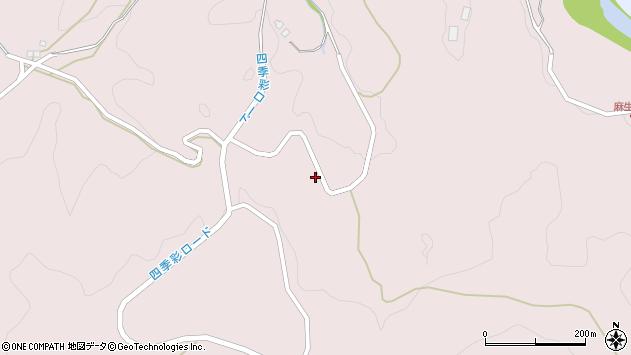 大分県玖珠郡九重町町田4862周辺の地図