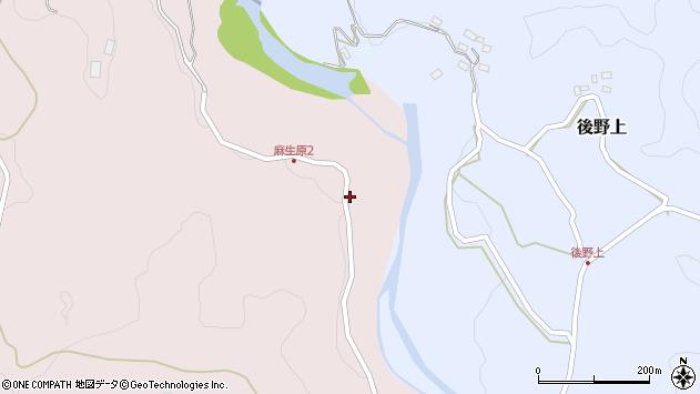 大分県玖珠郡九重町町田5144周辺の地図