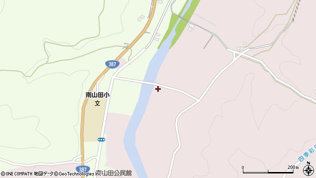 大分県玖珠郡九重町町田739周辺の地図