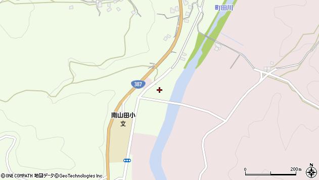 大分県玖珠郡九重町引治1203周辺の地図