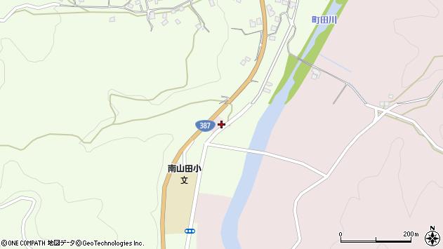 大分県玖珠郡九重町引治872周辺の地図