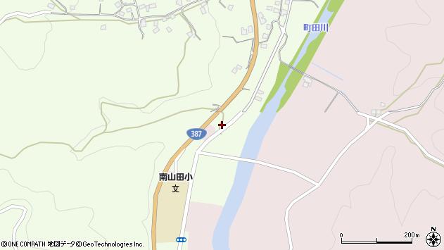 大分県玖珠郡九重町引治1202周辺の地図