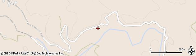 大分県玖珠郡九重町野上1147周辺の地図