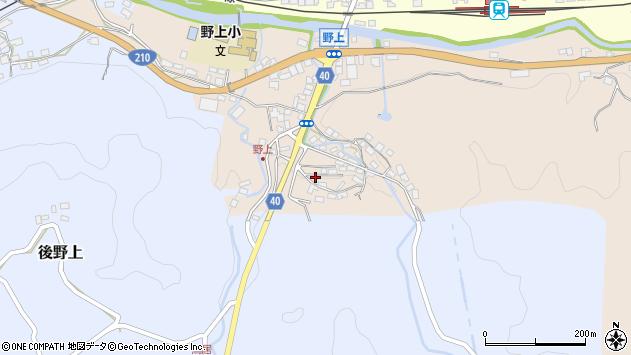 大分県玖珠郡九重町野上30周辺の地図
