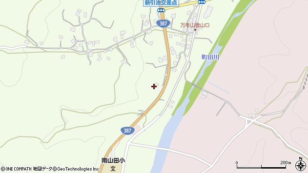 大分県玖珠郡九重町引治1169周辺の地図