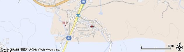大分県玖珠郡九重町野上36周辺の地図