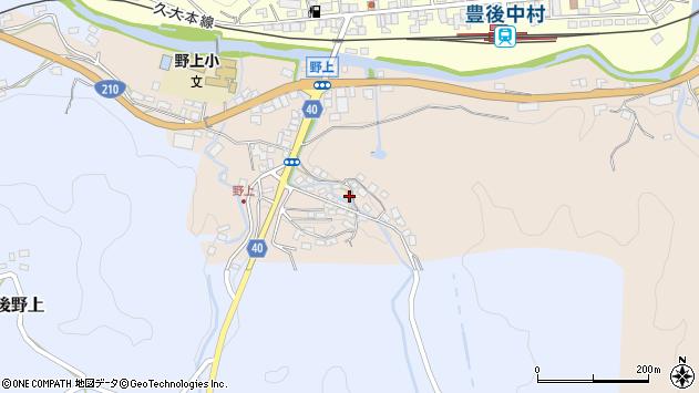 大分県玖珠郡九重町野上493周辺の地図