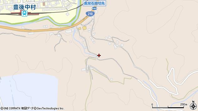 大分県玖珠郡九重町野上下原周辺の地図